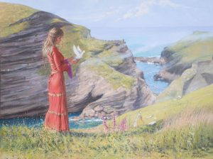 Queen guinevere at Tintagel